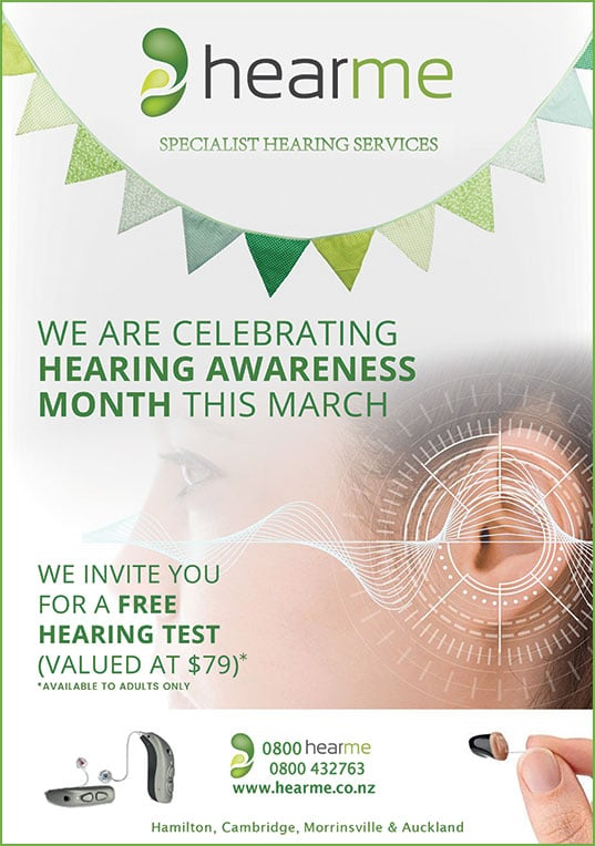 free hearing awareness march specials